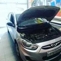 Подключение сабвуфера в Hyundai Solaris