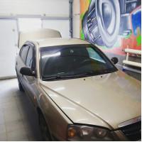 Замена штатной акустики в Hyundai Elantra