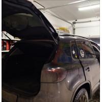 Подключение сабвуфера в VW Tiguan