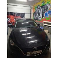 Установка усилителя в Mazda 3