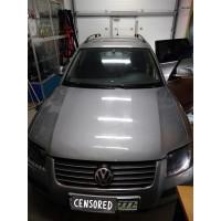 Замена акустики в VW Passat
