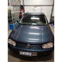 Замена штатных динамиков в VW Golf